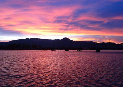 kampot-sunset